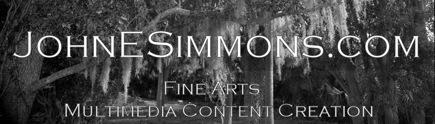 John E. Simmons.com header image